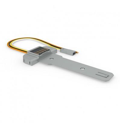 Battery module support W Smart - Silver